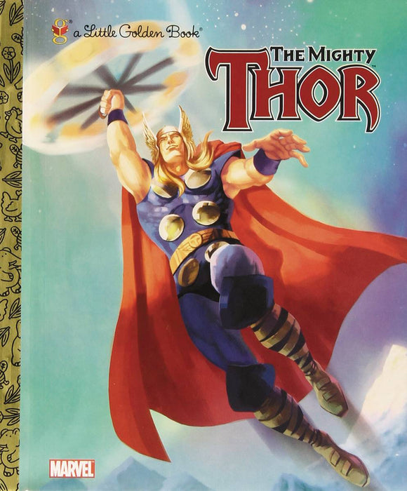 Mighty Thor Little Golden Book Reissue - Books