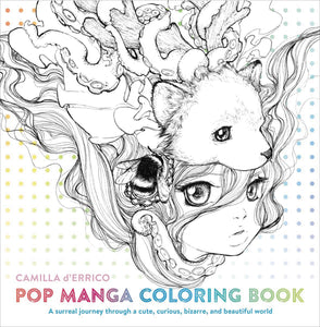 Pop Manga Coloring Book Sc