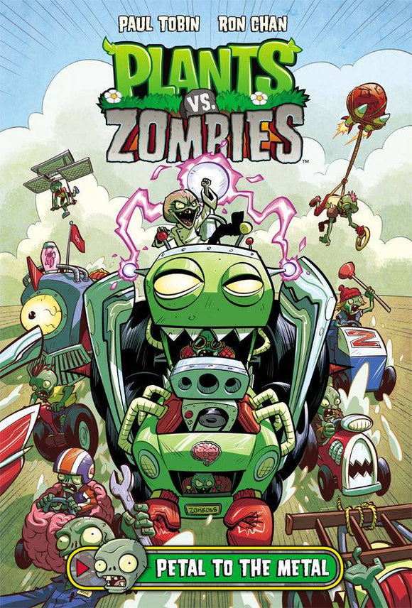 Plants Vs Zombies Petal to The Metal HC - Books