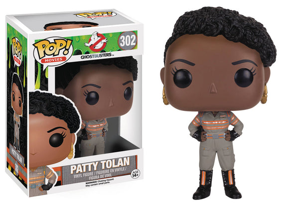 Pop Ghostbusters 2016 Patty Tolan Vinyl Fig