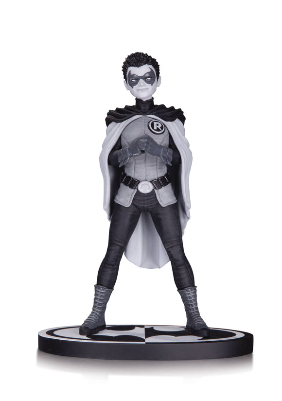Batman Black & White Statue Robin By Frank Quitely
