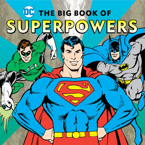 Dc Super Heroes Big Book of Superpowers HC - Books
