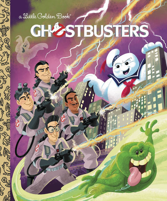 Ghostbusters Little Golden Book - Books