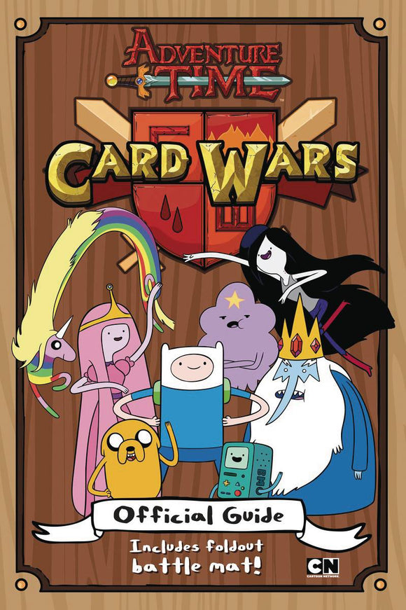 Adventure Time Card Wars Off Guide Sc