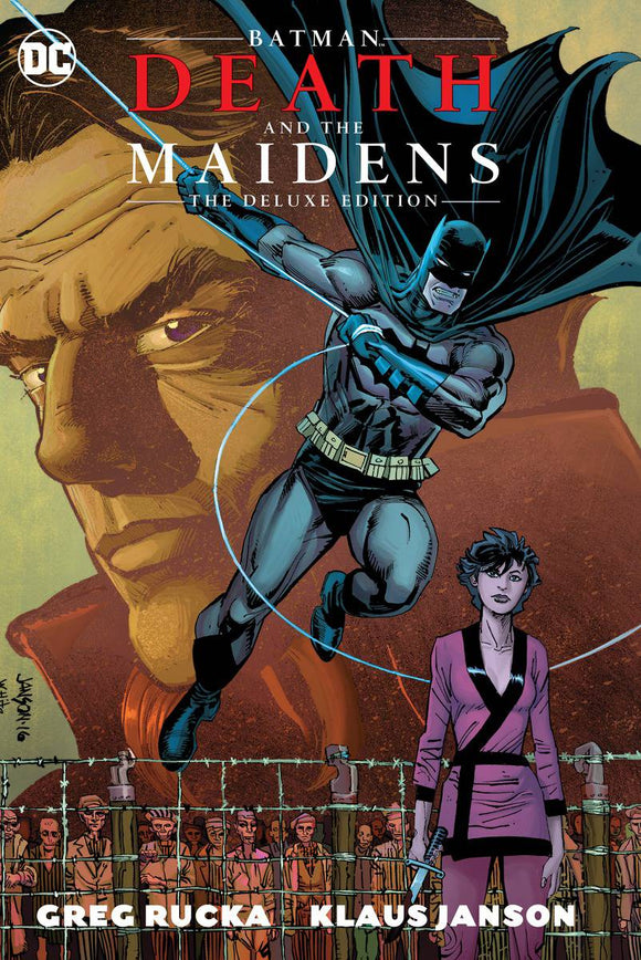 Batman Death And The Maidens Dlx Ed Hc