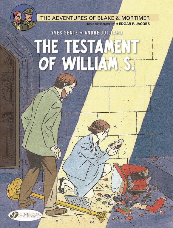 Blake & Mortimer Gn Vol 24 Testament Of William S