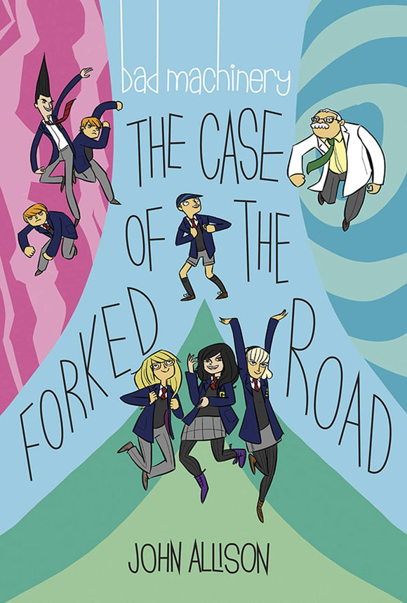 Bad Machinery GN Vol 07 The Case of The Forked Road - Books