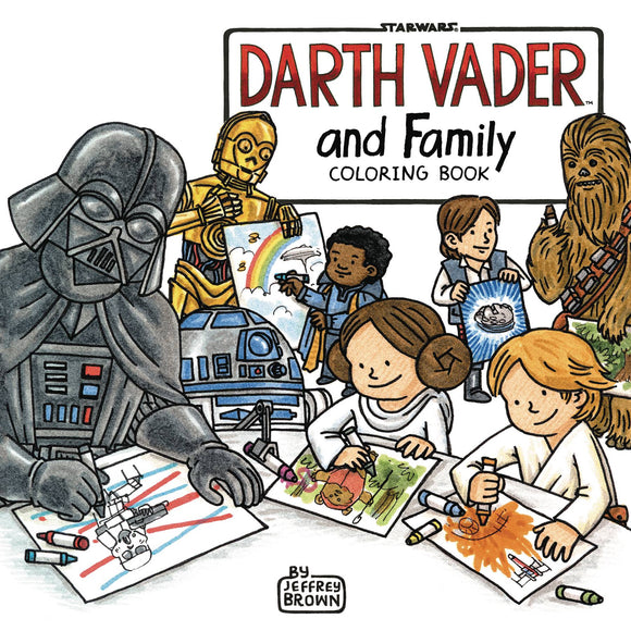Darth Vader & Family Coloring Book - Books