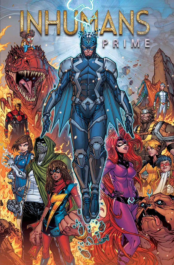 Inhumans Prime #1 By Meyers Poster