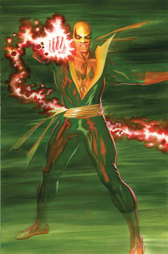 Iron Fist #1 By Alex Ross Poster