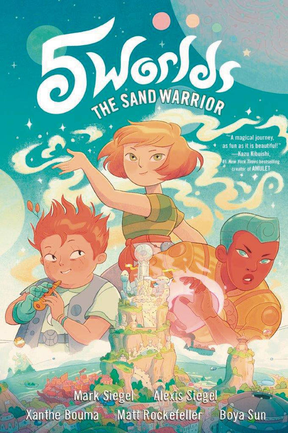 5 Worlds GN Vol 01 Sand Warrior - Books