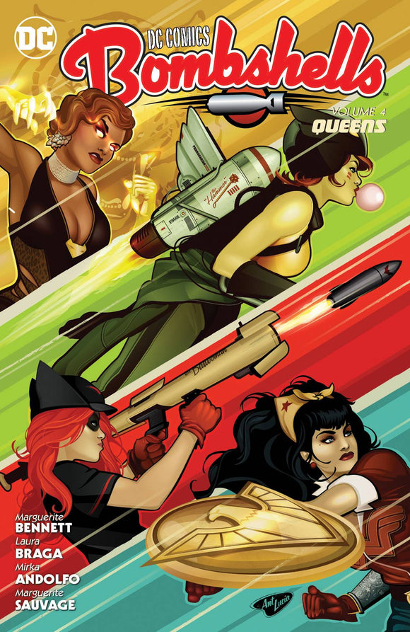 Dc Comics Bombshells TP Vol 04 Queens - Books