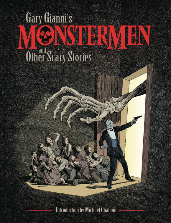 Gary Gianni Monstermen & Other Scary Stories TP - Books