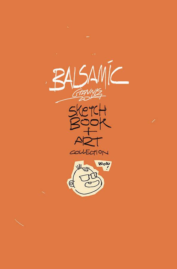 Balsamic Sketchbook & Art Coll Hc