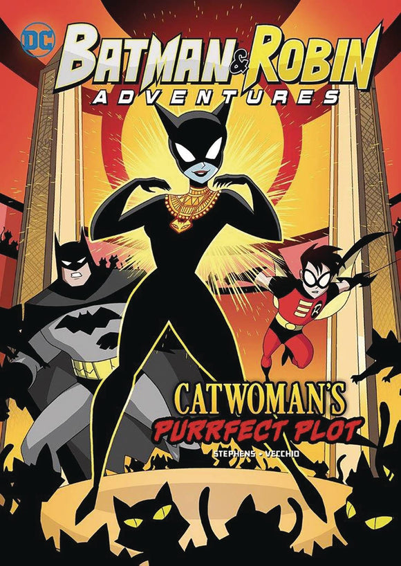 Batman & Robin Adv Yr Tp Catwomans Purrfect Plot