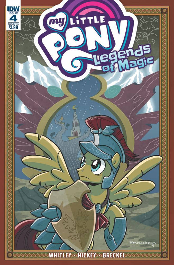 My Little Pony Legends Of Magic #4 Cvr A Hickey