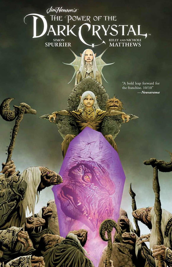 Jim Henson Power Of Dark Crystal Hc Vol 01 (Of 3)