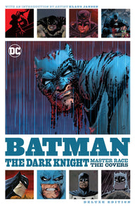 Batman Dark Knight Master Race Covers Dlx Ed Hc