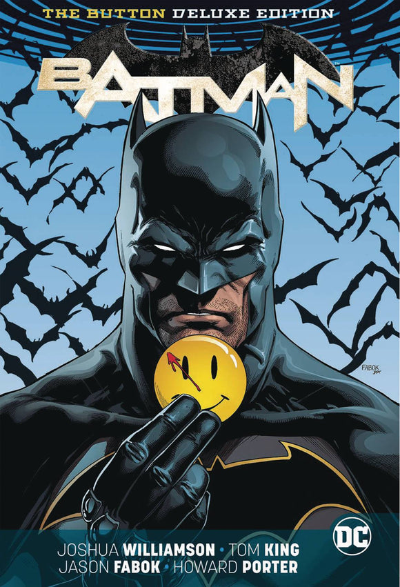 Batman Flash The Button Deluxe Ed Hc