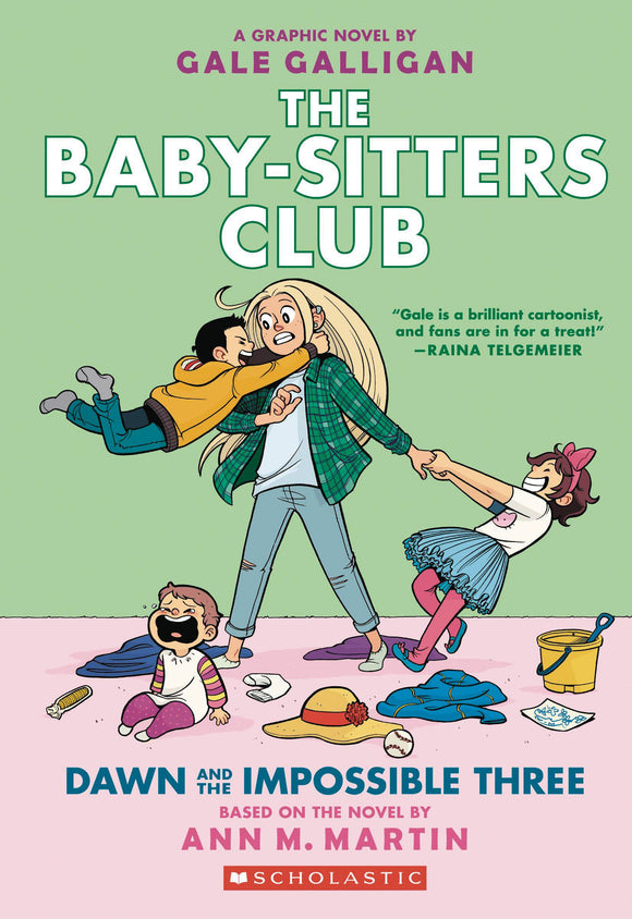 Baby Sitters Club Color Ed GN Vol 05 Dawn Impossible 3 - Books