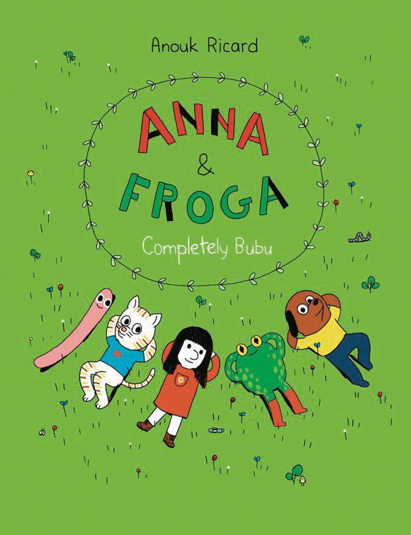 Anna & Froga Completely Bubu GN - Books
