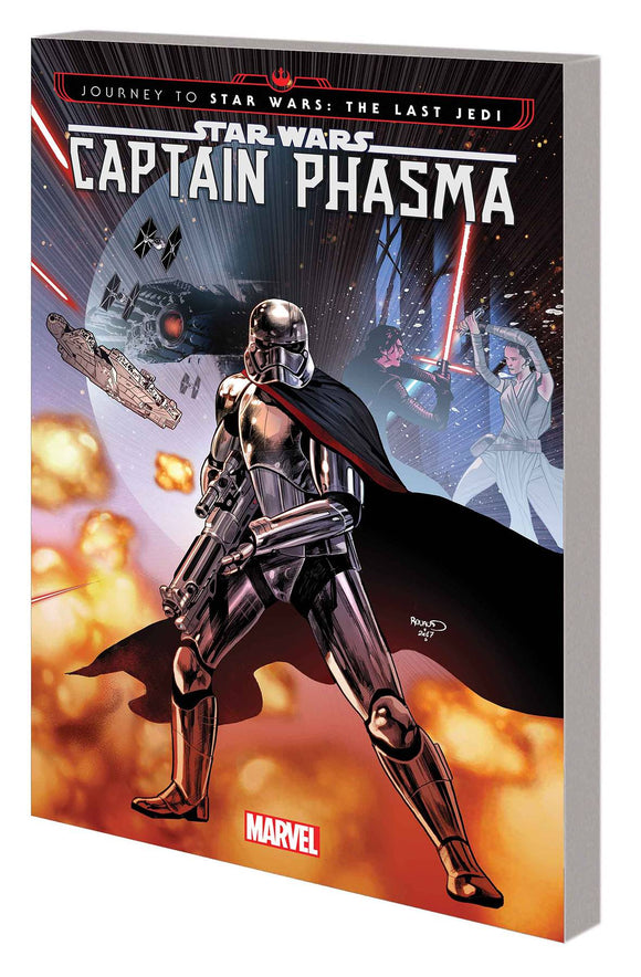 Journey Star Wars Last Jedi Capt Phasma Tp