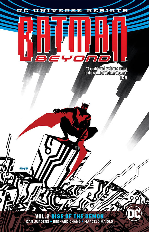 Batman Beyond Tp Vol 02 Rise Of The Demon
