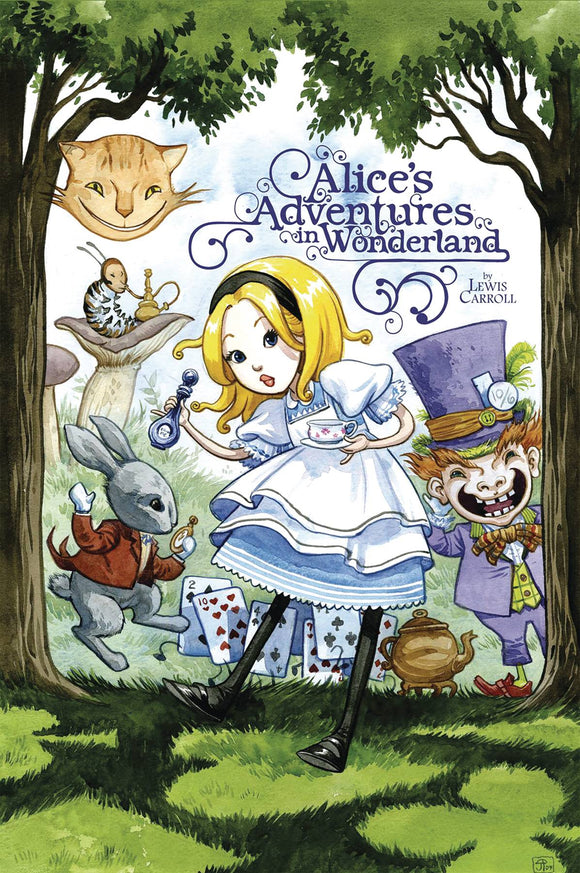 Alice Adv In Wonderland Illus By Jenny Frison Tp