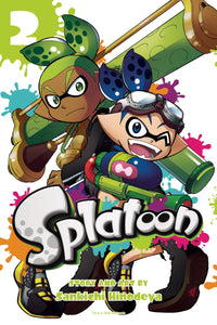 Splatoon Manga GN Vol 02 - Books