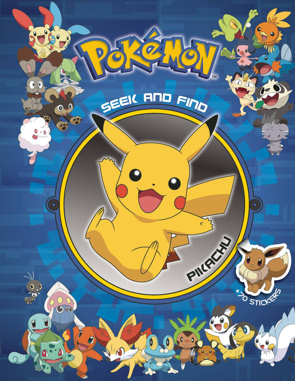 Pokemon Seek & Find HC Pikachu - Books