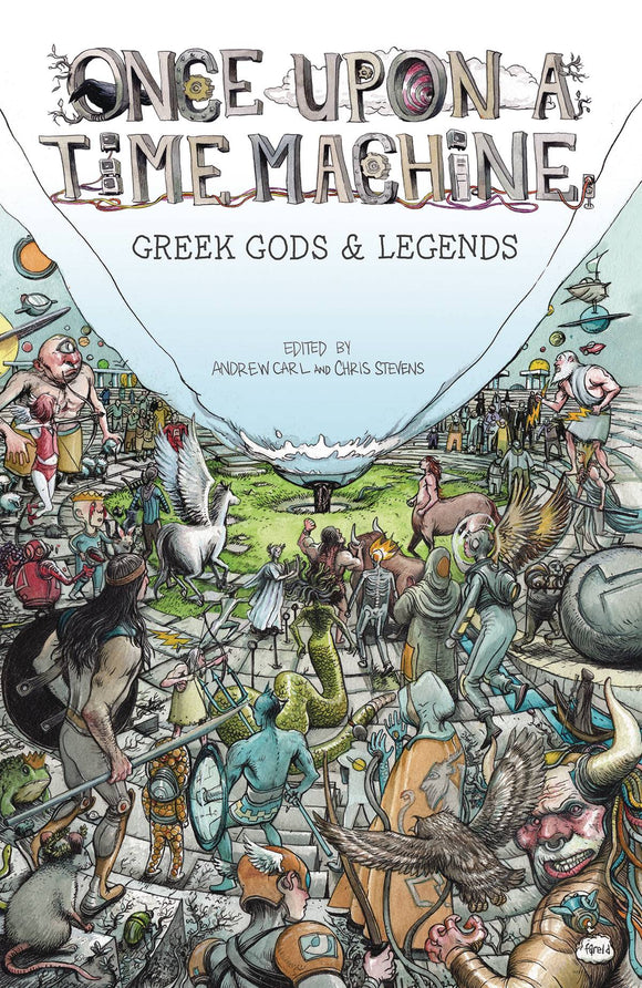 Once Upon A Time Machine Tp Vol 02 Greek Gods Legends