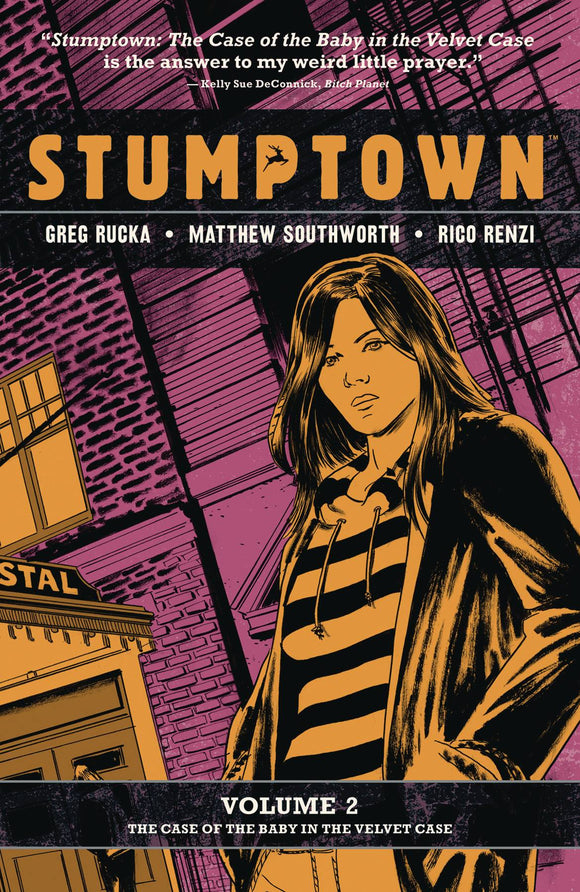 Stumptown Tp Vol 02 Case Of Baby Velvet Case