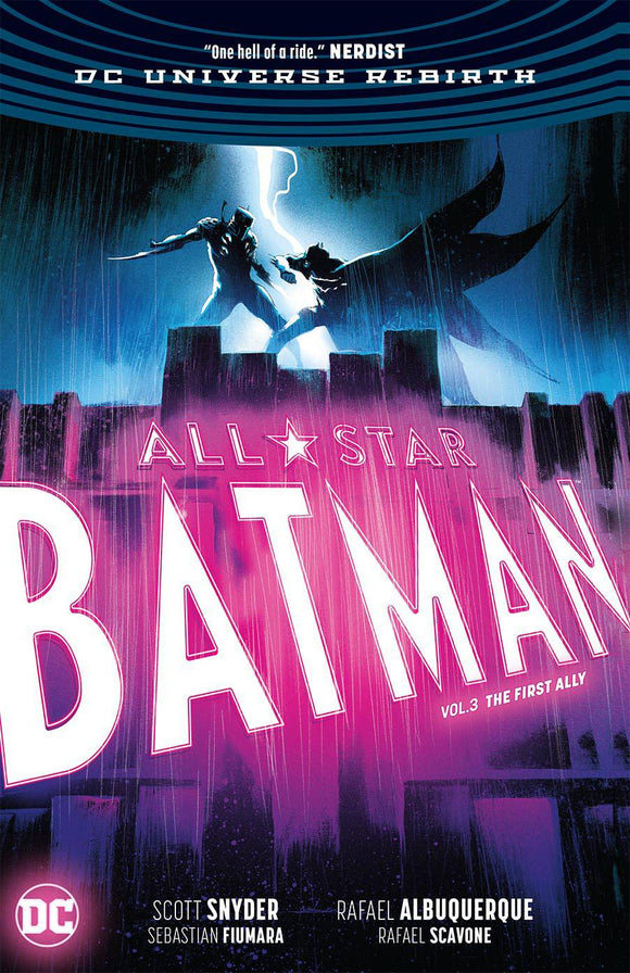 All Star Batman Hc Vol 03 First Ally Rebirth