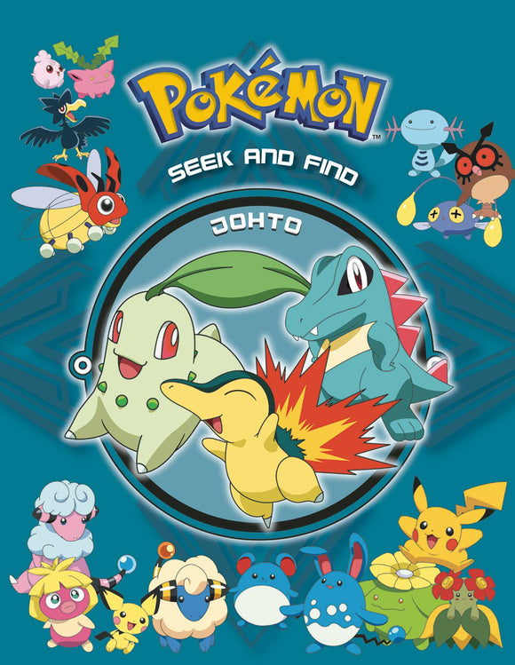 Pokemon Seek & Find HC Johto - Books