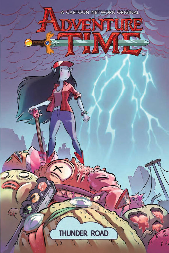 Adventure Time Original Gn Vol 12 Thunder Road