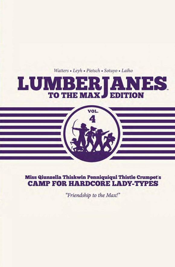 Lumberjanes to Max Ed HC Vol 04 - Books