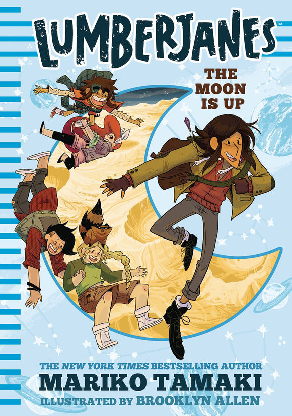 Lumberjanes Illus Hc Novel Vol 02 Moon Is Up