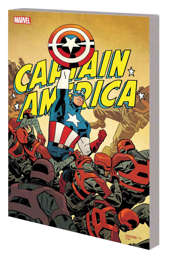 Captain America By Waid And Samnee Tp Vol 01 Home Of B