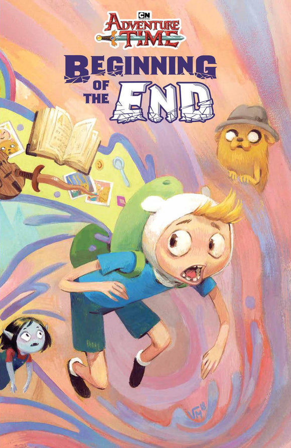 Adventure Time Beginning of End TP - Books