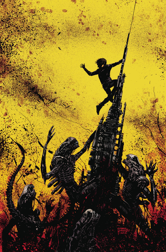 Aliens Dust To Dust #4 (Of 4) Cvr A Beredo