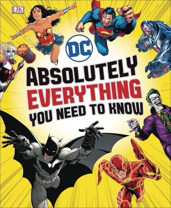 Dc Comics Absolutely Everything You Need to Know HC - Books
