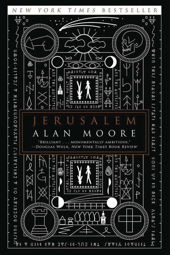 Alan Moore Jerusalem Sc Novel