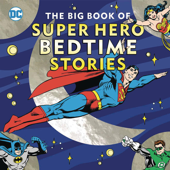Big Book of Super Hero Bedtime Stories HC - Books