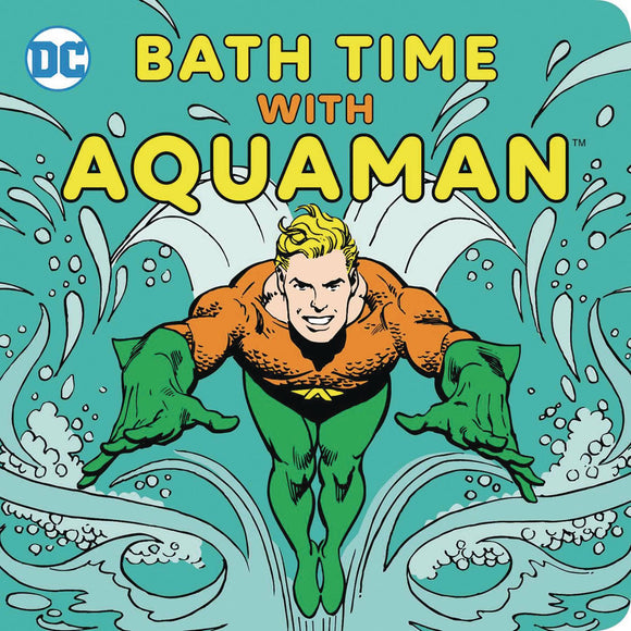 Bath Time With Aquaman Bath Book