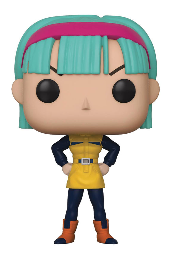 Pop Animation Dragonball Z Bulma Vin Fig