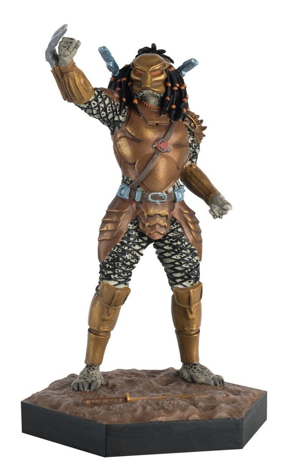 Alien Predator Fig Coll #46 Top-Knot Predator From Ap War