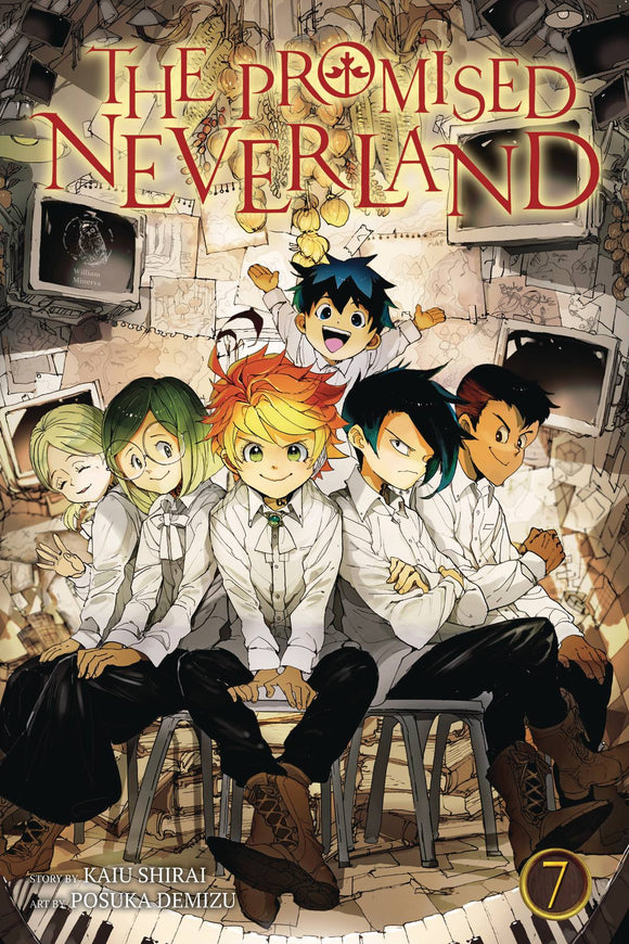 Promised Neverland Gn Vol 07