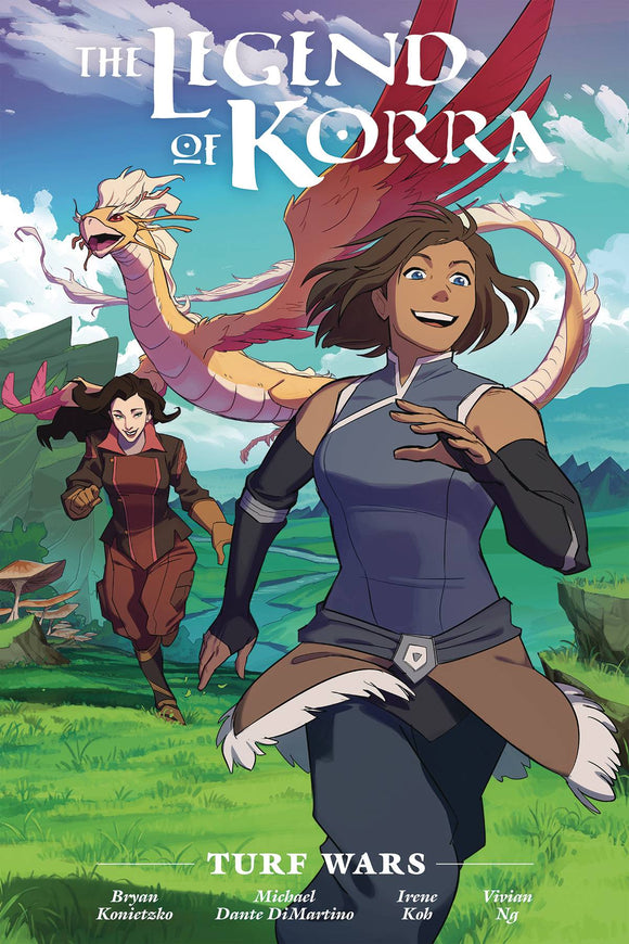 Legend of Korra Turf Wars Library Ed HC - Books