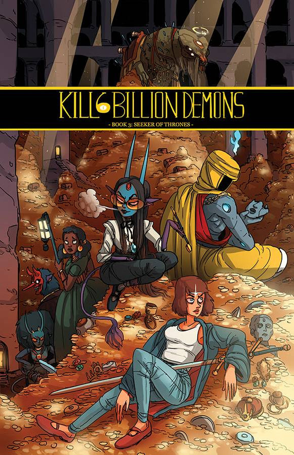 Kill 6 Billion Demons Tp Vol 03