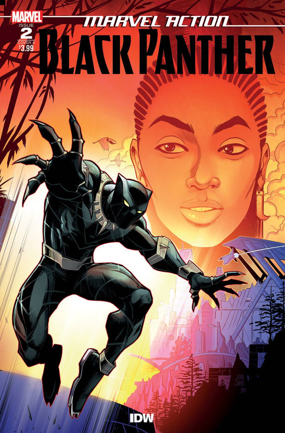 Marvel Action Black Panther #2 Samu